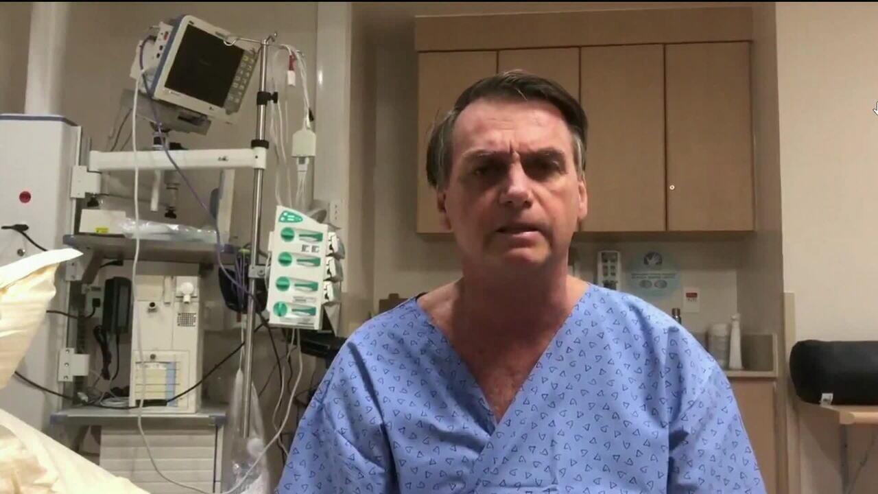 Bolsonaro é operado para retirada de bolsa de colostomia