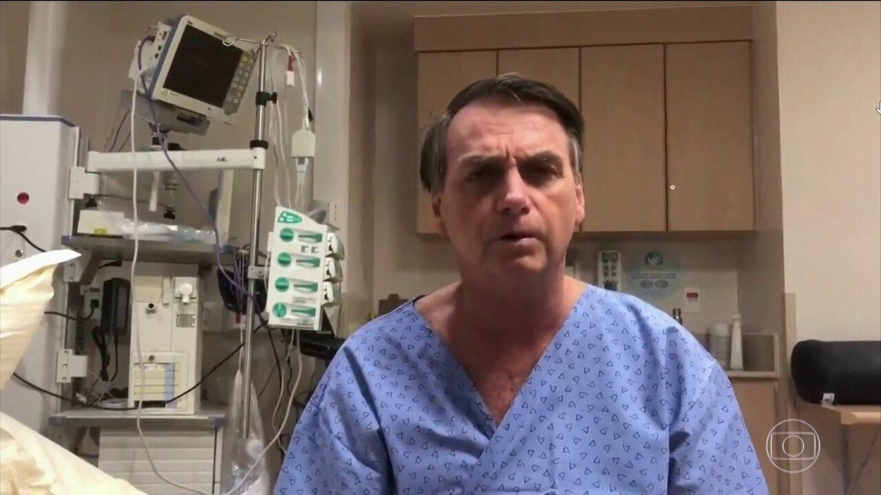 Jair Bolsonaro se recupera bem da retirada da bolsa de colostomia