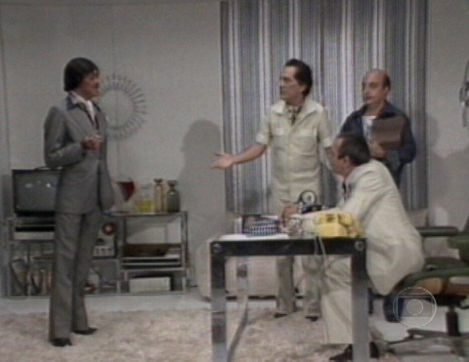 Os dois atores já tinham vivido os mesmos personagens em 'Chico City', exibido de 1973 a 1980
