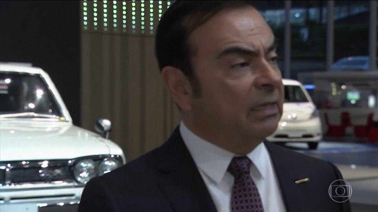 Carlos Ghosn diz que foi vítima de conspiração e traição