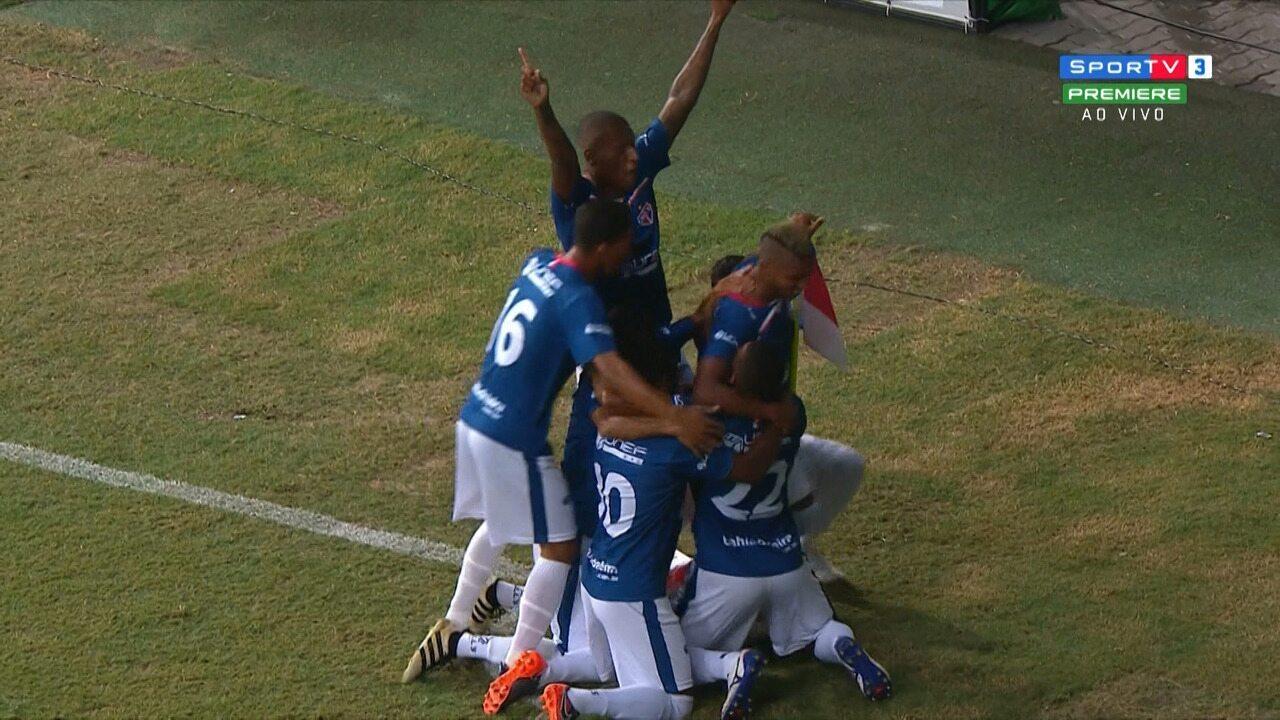 Veja os gols de Bahia 0 x 2 Bahia de Feira