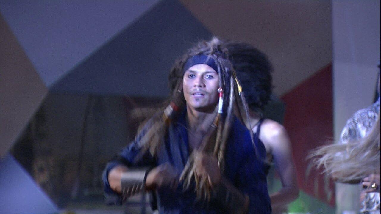Brothers dançam ao som de 'Movimento da Sanfoninha'