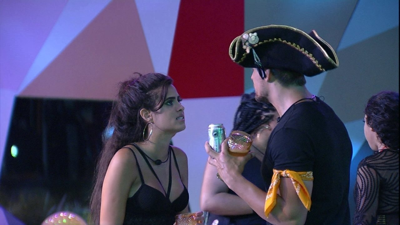Diego conversa com Hana: 'A gente tem que tentar conviver'