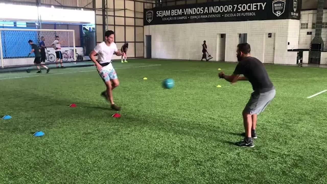 Família e treinos para manter a forma física  os 50 dias de Ganso do ... 030ea2f2457f9