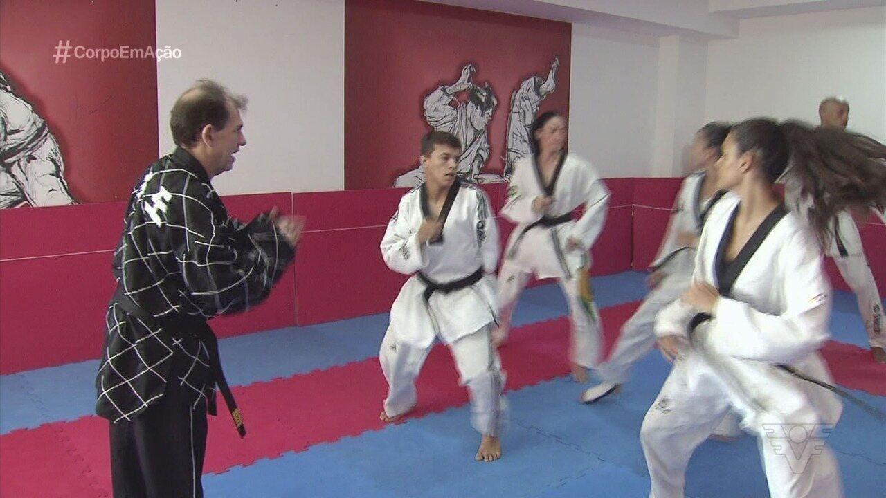 Equipe de taekwondo de Santos se prepara para as competições desse ano