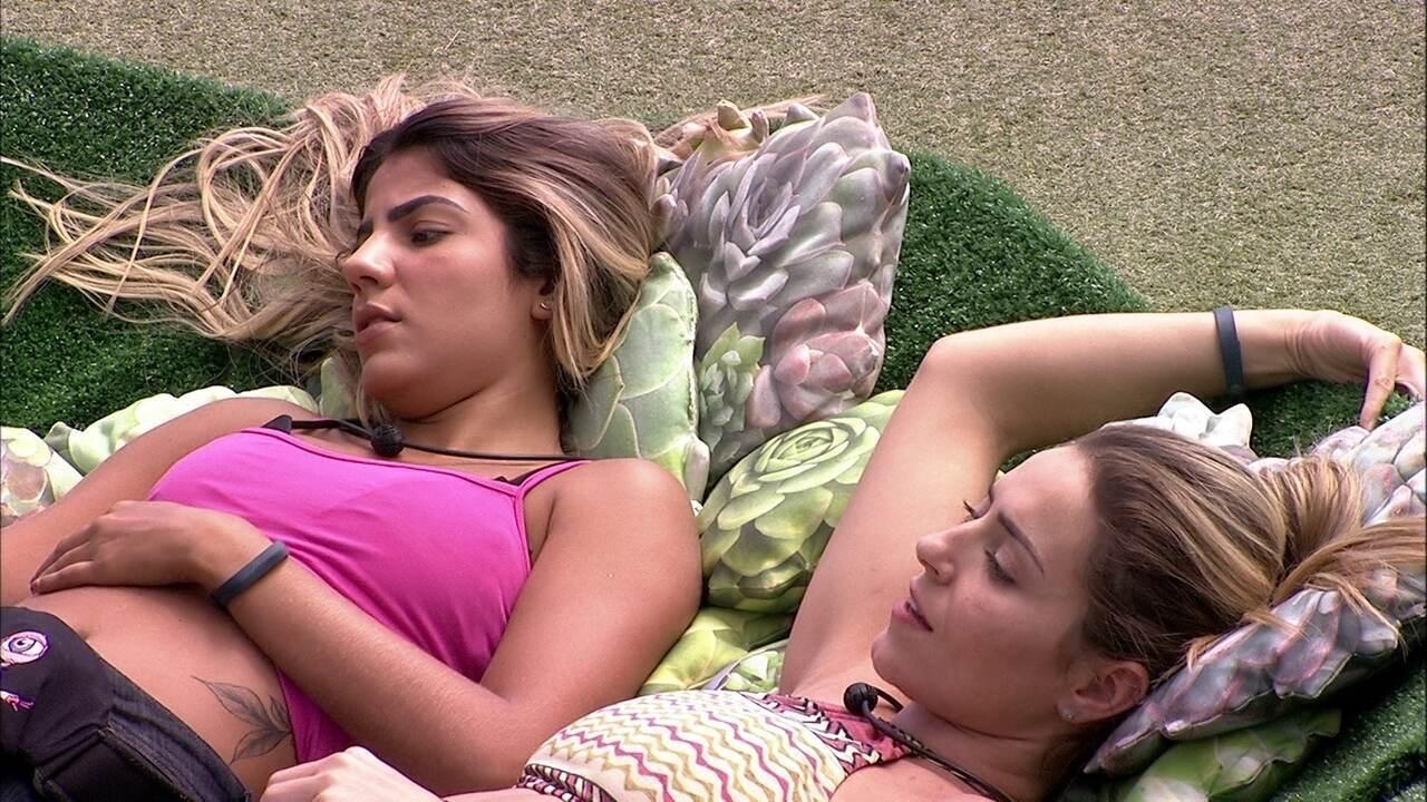 Paula fala para Diego e Hariany: 'Só protejo vocês'