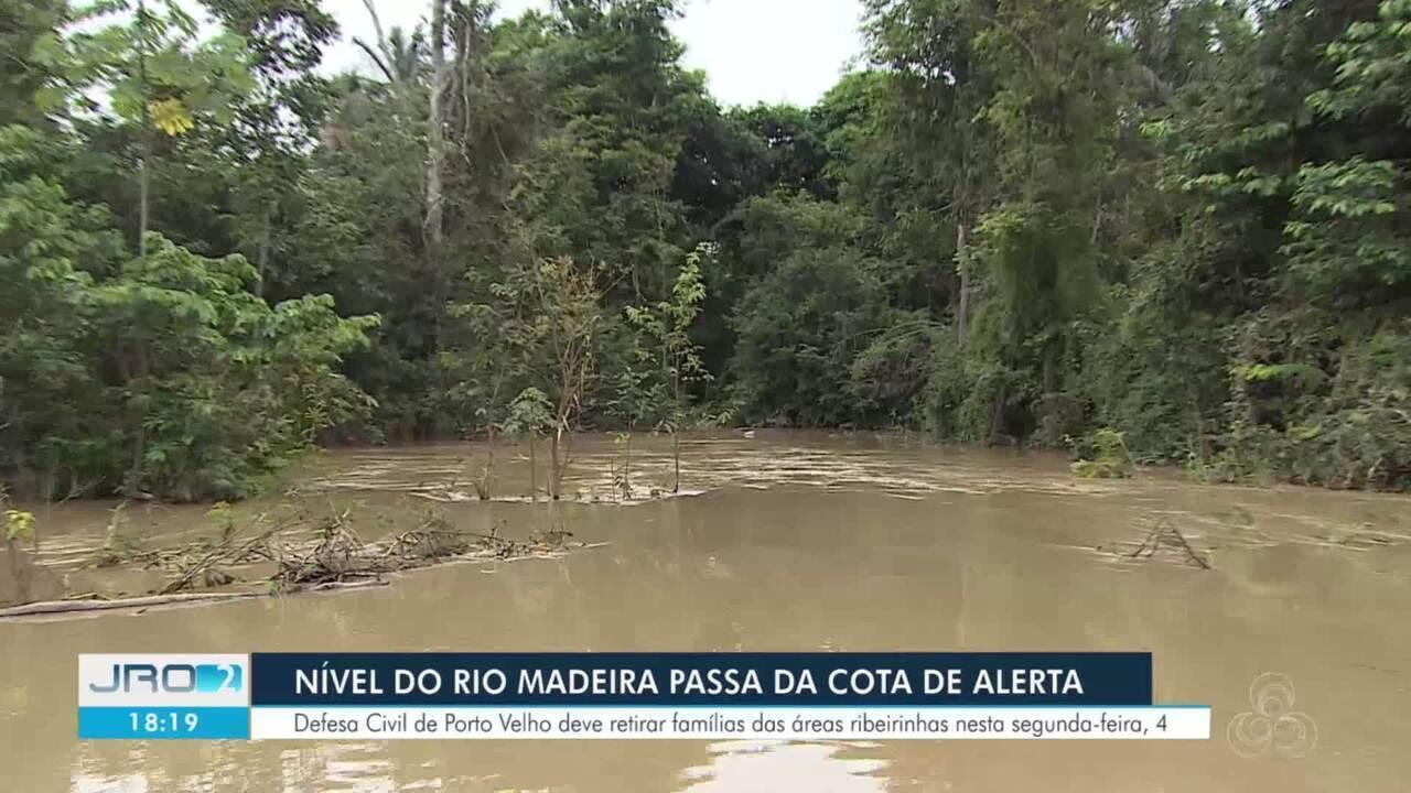 Defesa Civil inicia ação preventiva no Rio Madeira em Porto Velho