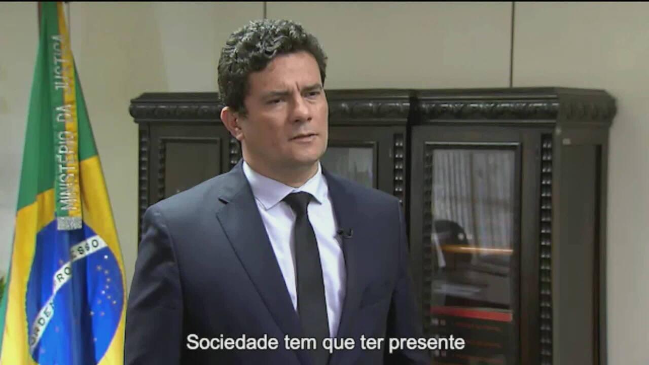Sergio Moro vai se reunir com governadores e secretários para discutir lei anticrime
