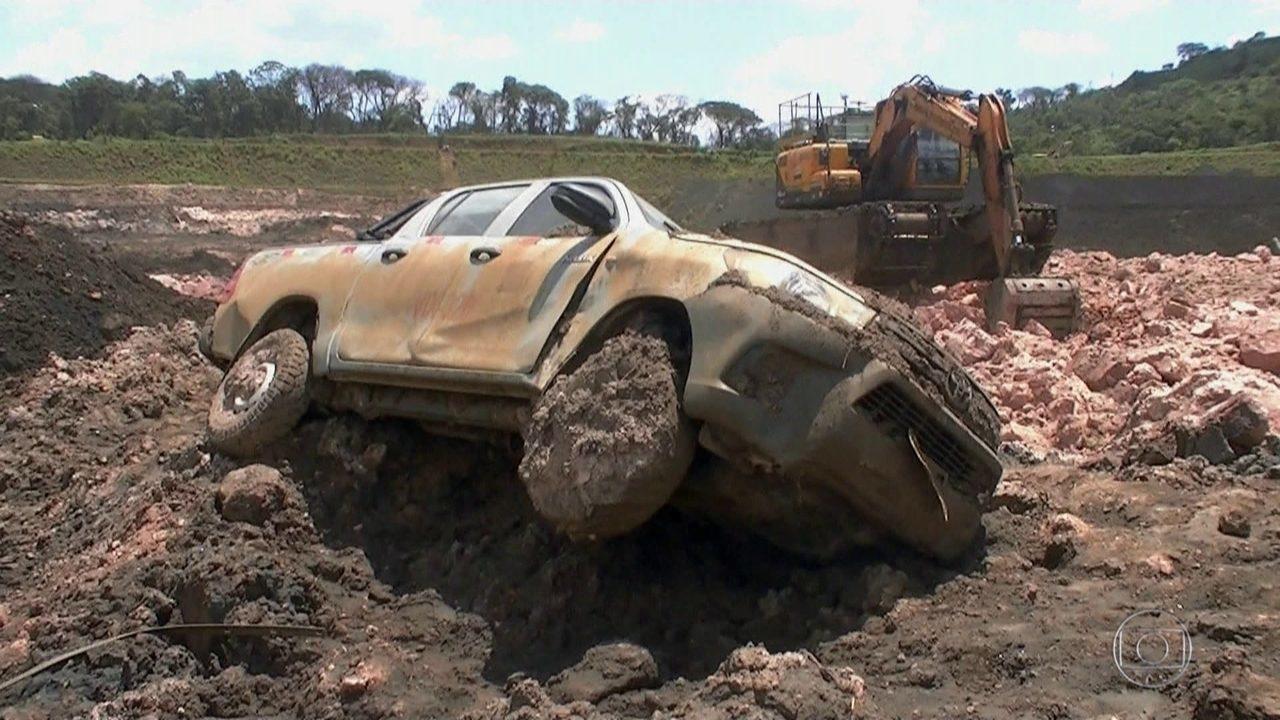 Funcionários relembram momento que a barragem se rompeu em Brumadinho