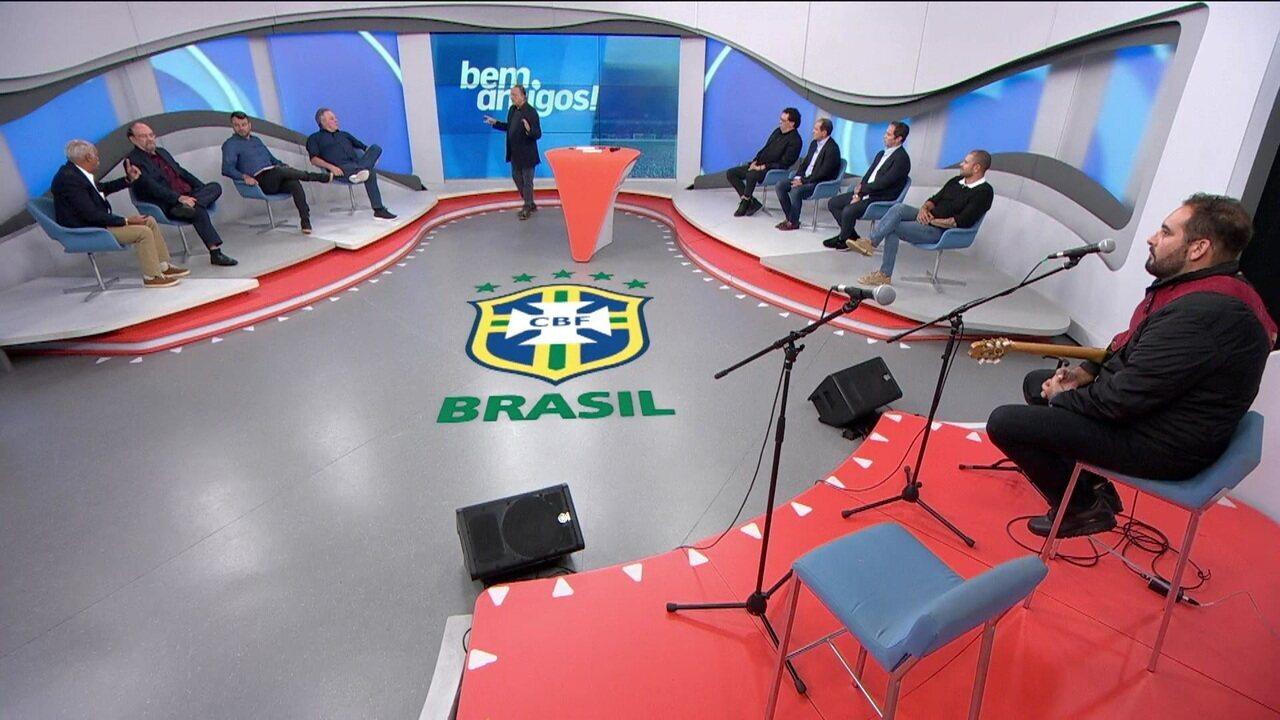 Comentaristas discutem sobre a queda da seleção brasileira