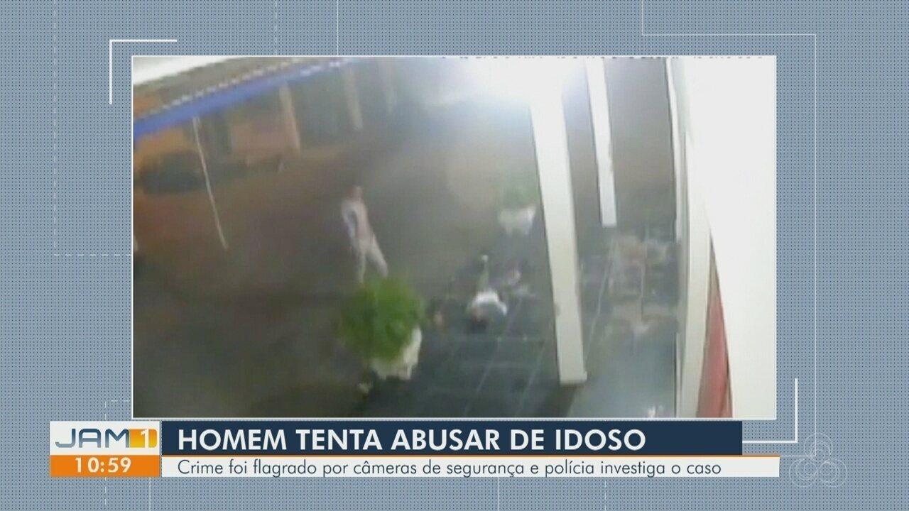 Vídeo flagra homem com deficiência mental sendo abusado sexualmente em Manaus