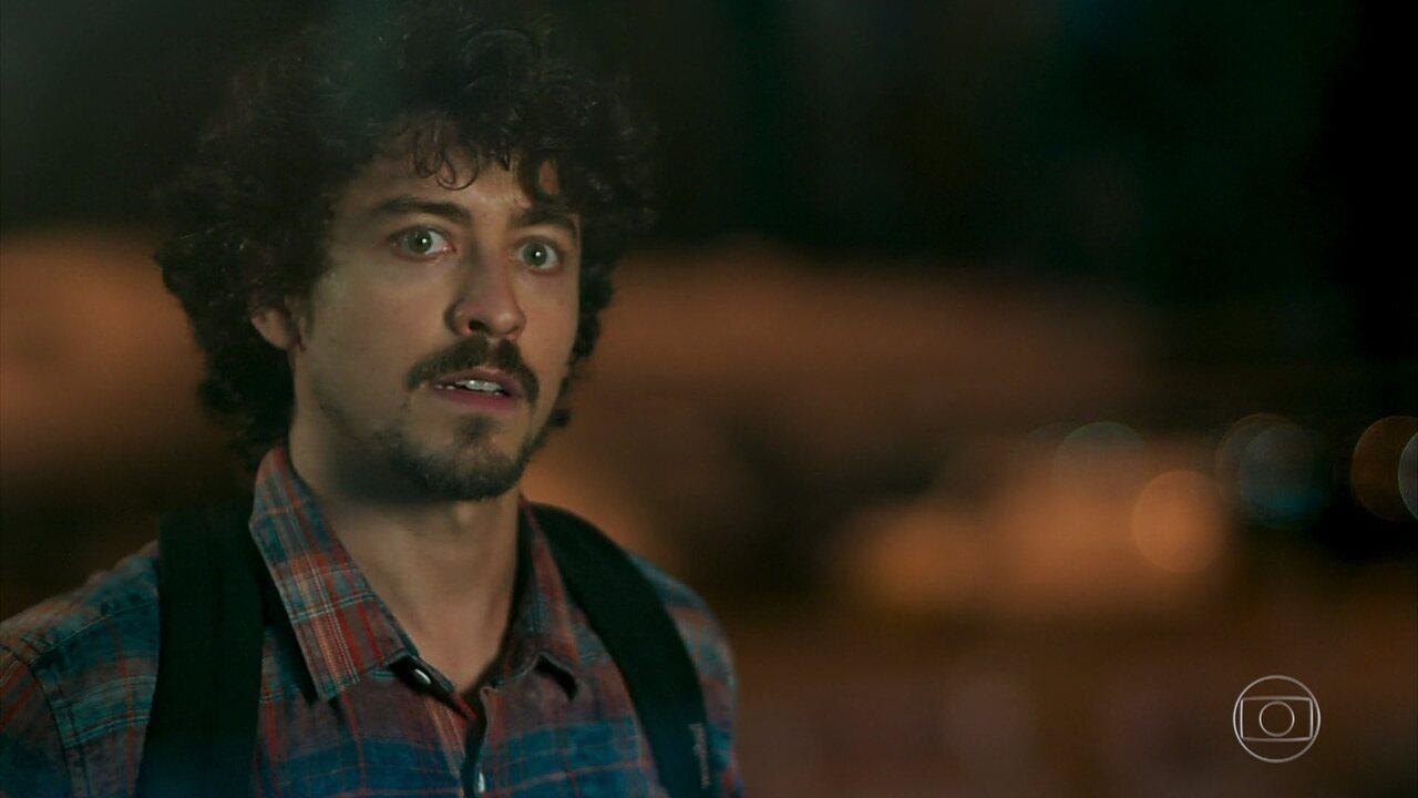 Jerônimo (Jesuíta Barbosa) consegue o que deseja e vai para o Rio de Janeiro