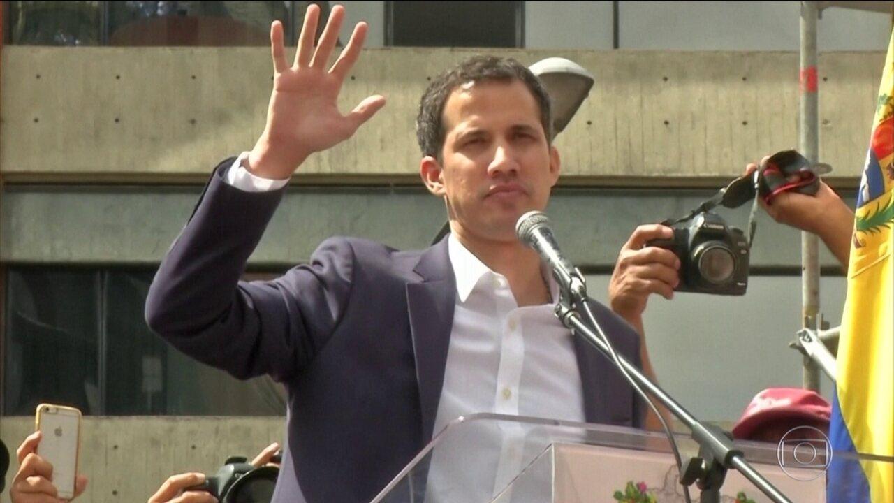 Juan Guaidó anuncia representante diplomático para o Brasil