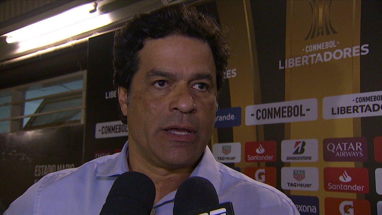 Raí fala sobre a derrota do São Paulo contra o Tallares pela Taça Libertadores