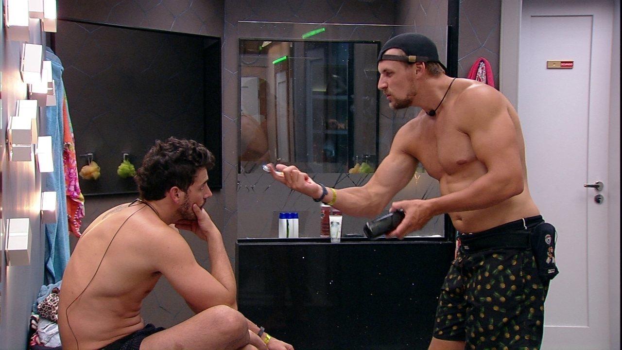 Depois de briga com Hariany, Diego diz que não sente verdade na sister