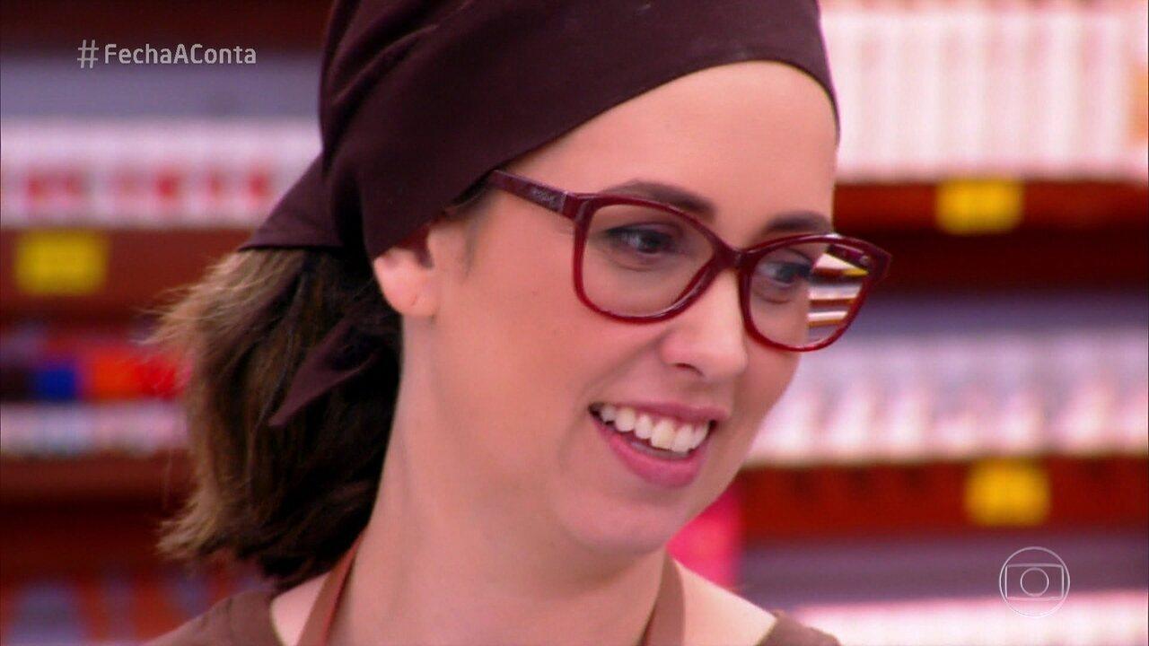 Veridiana deixa o 'Fecha a Conta Bolo'