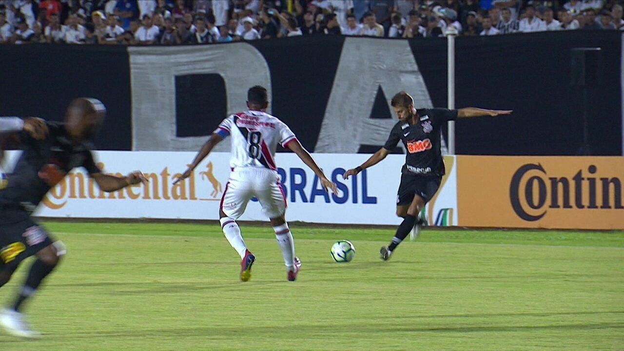Melhores momentos de Ferroviário-CE 2 x 2 Corinthians pela 1ª fase da Copa do Brasil