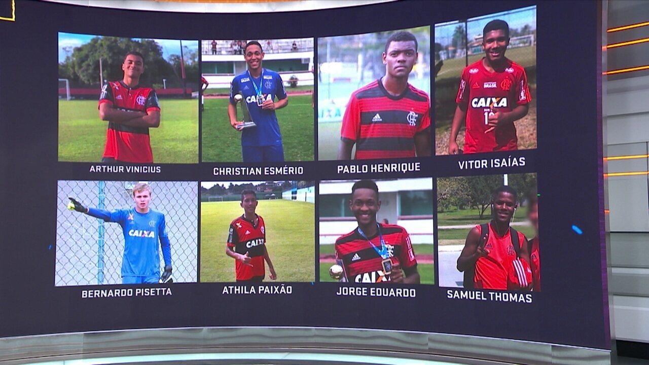 Revelado pelo Flamengo, Júnior Baiano lamenta tragédia no Ninho do Urubu