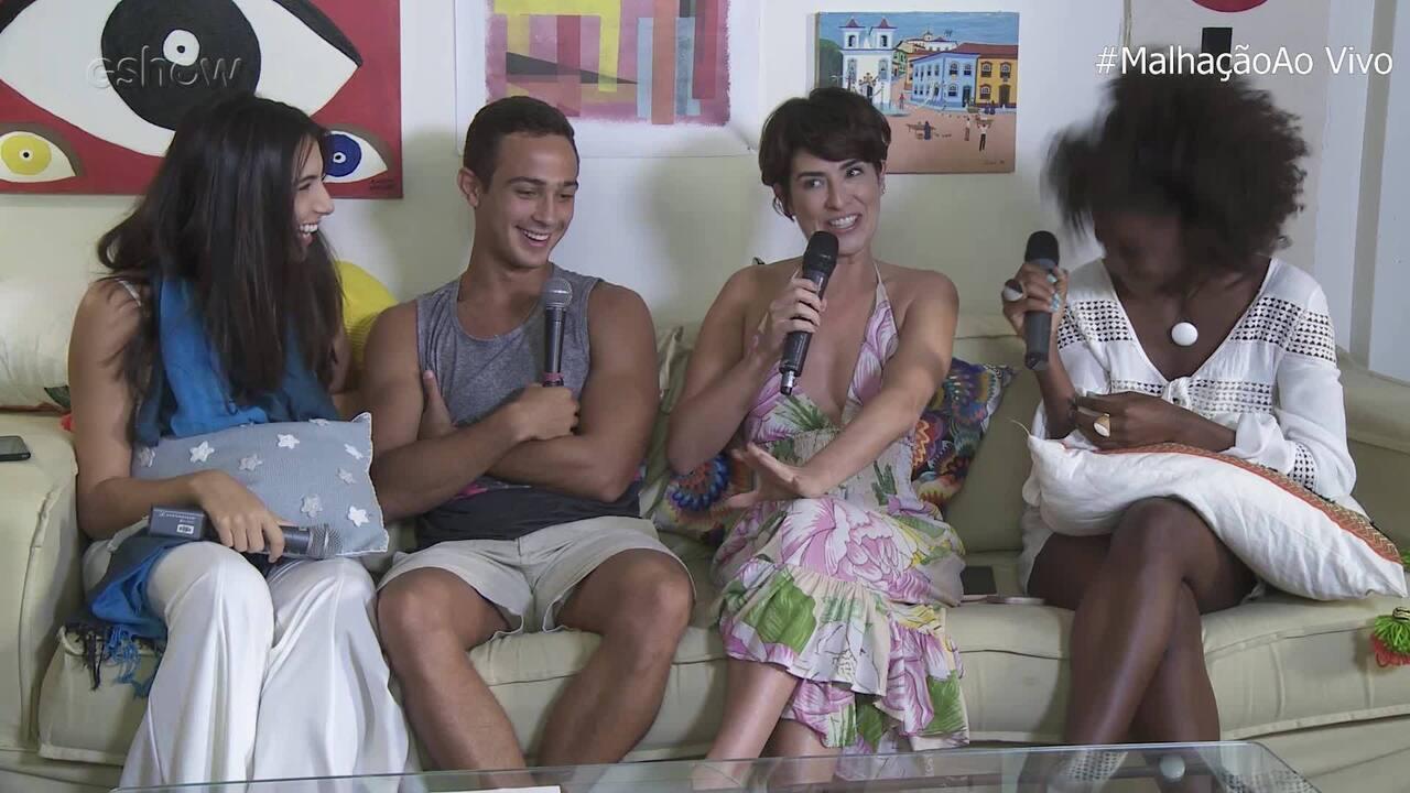 Fernanda Paes Leme relembra participação no seriado 'Sandy e Junior'