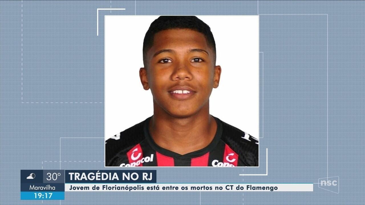 Conheça a trajetória de Vitor Isaías, catarinense vítima da tragédia no CT do Flamengo