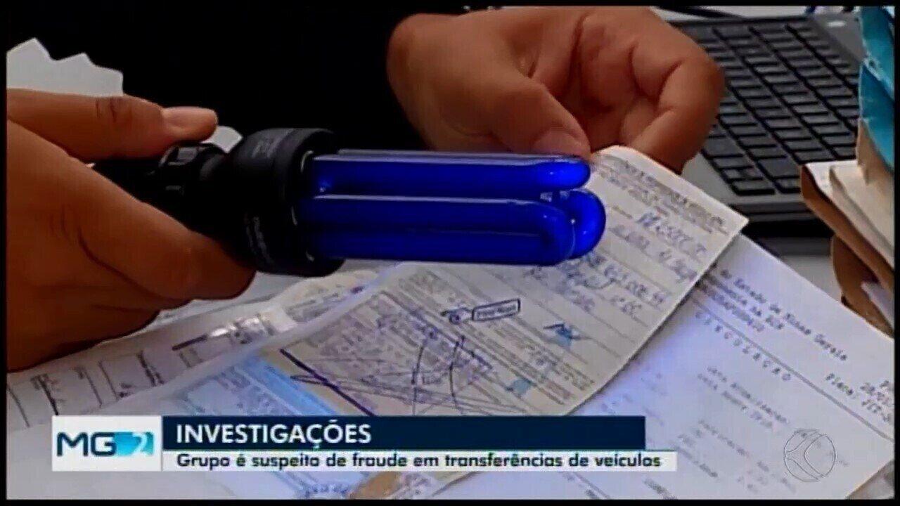 Polícia investiga despachantes suspeitos de fraudar transferências de veículos em Araxá