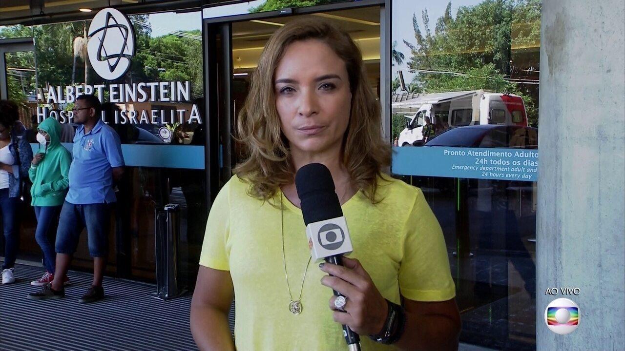Boletim: médicos informam que Jair Bolsonaro está melhor