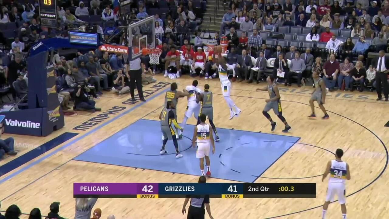Melhores momentos: Memphis Grizzlies 99 x 90 New Orleans Pelicans