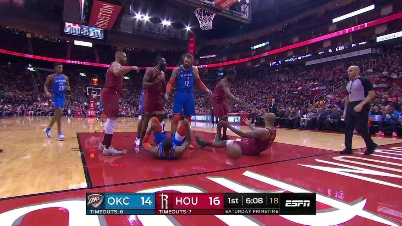 Melhores momentos: Oklahoma City Thunder 117 x 112 Houston Rockets