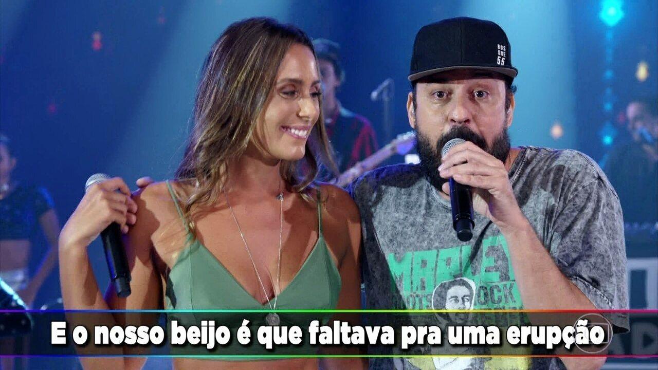 Gabriel O Pensador apresenta novo sucesso: 'Deixa Queimar'
