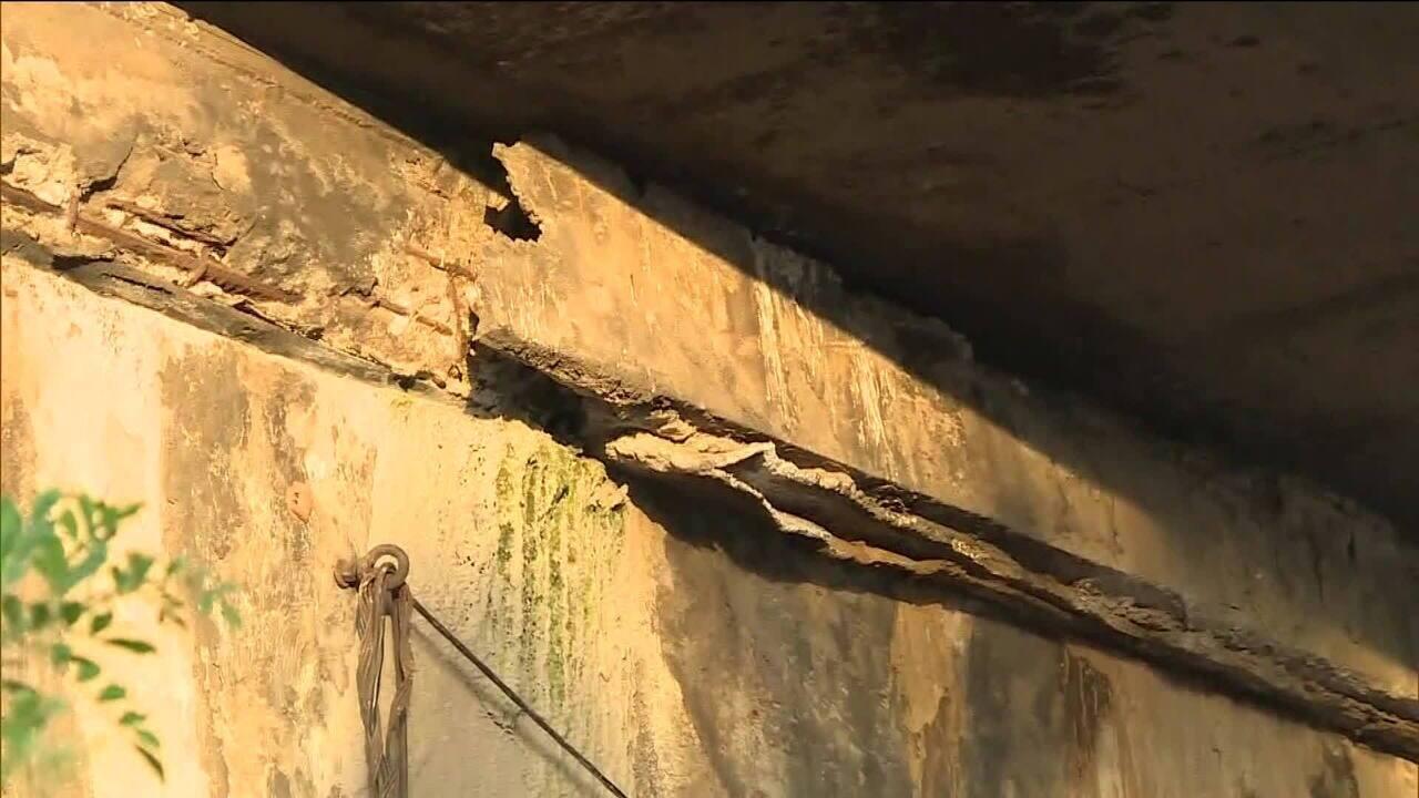 Relatório aponta sinais de instabilidade e infiltração em ponte de SP