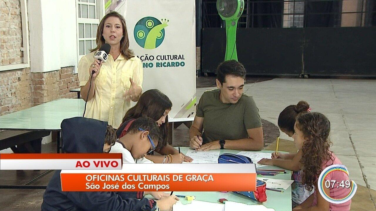 São José oferece 4,1 mil vagas em oficinas culturais