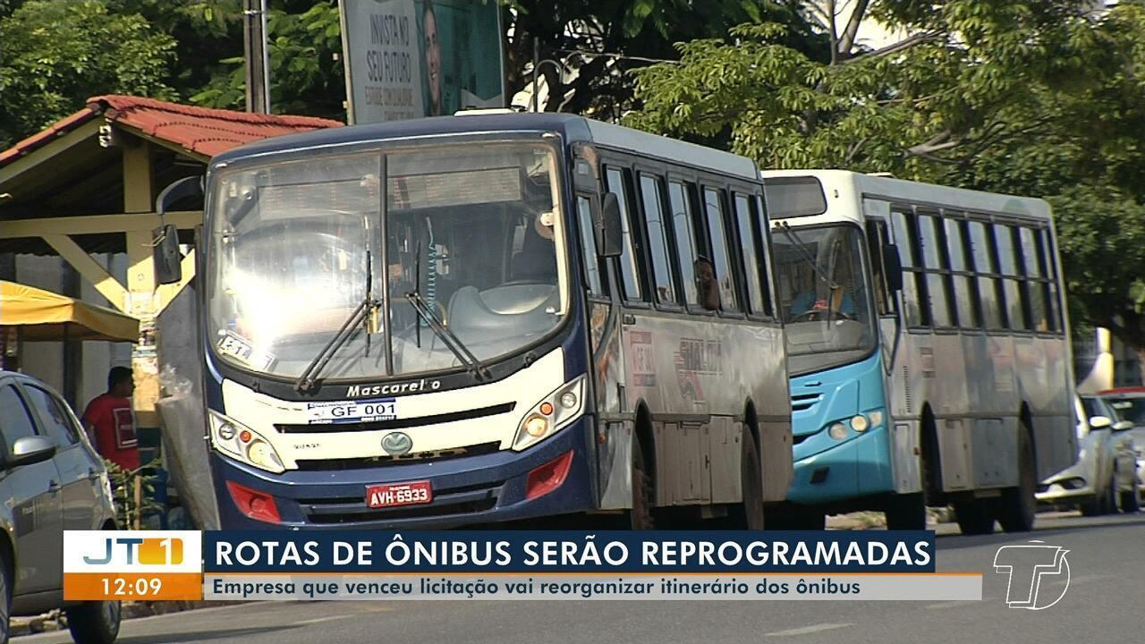 Empresa vencedora da licitação de ônibus realizará reprogramação das linhas