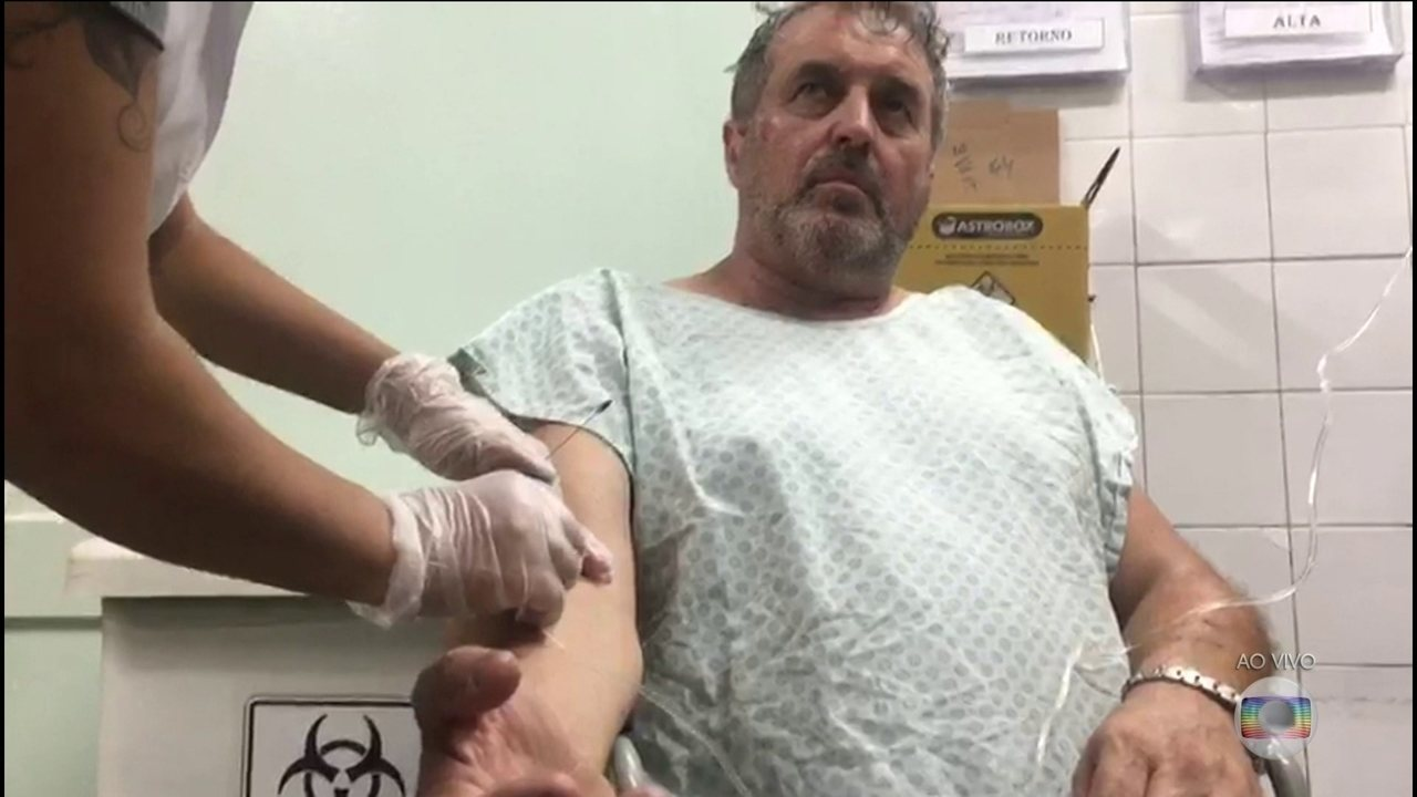 Boletim: caminhoneiro envolvido em acidente com helicóptero que matou Boechat está bem