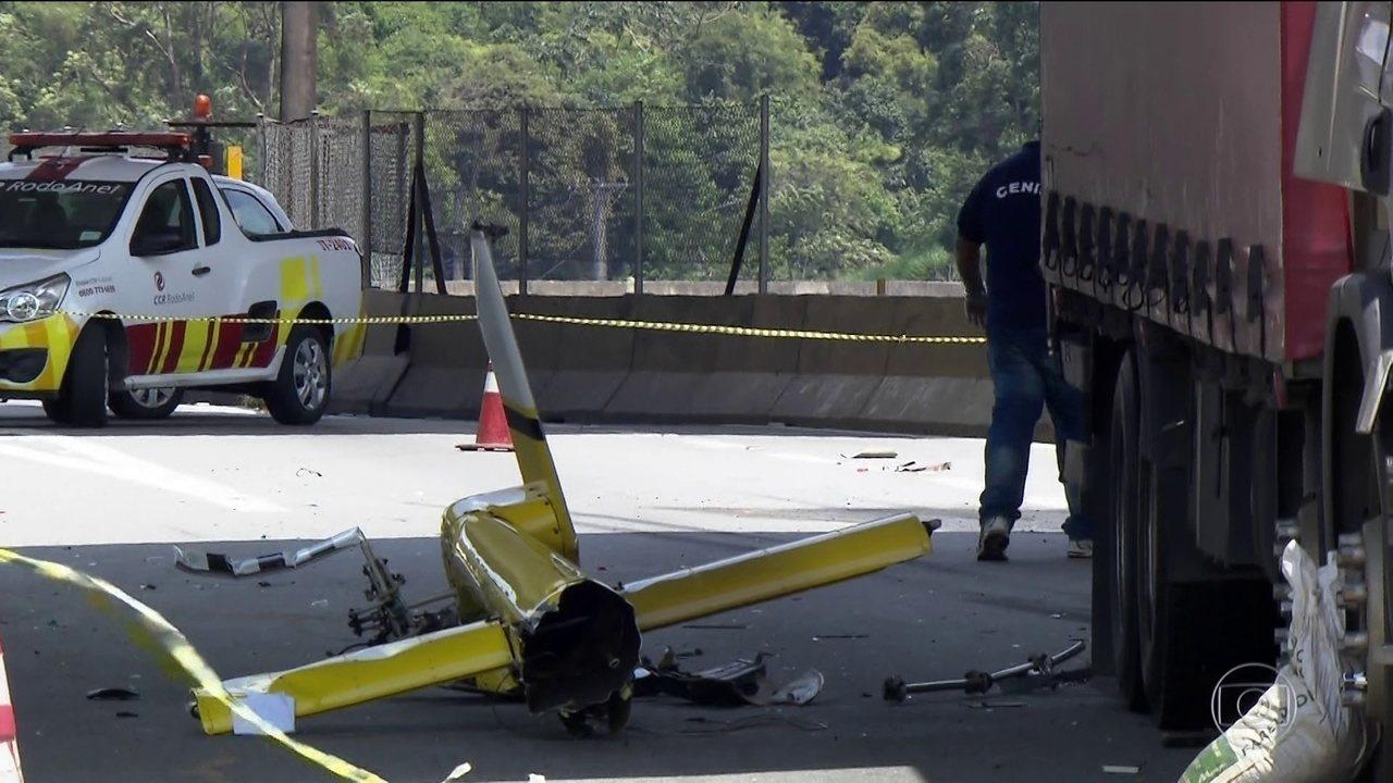 Acidente em que Ricado Boechat e piloto morreram surpreende especialistas em aviação