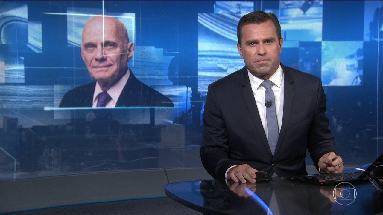 Companheiros da Globo lamentam morte de Ricardo Boechat