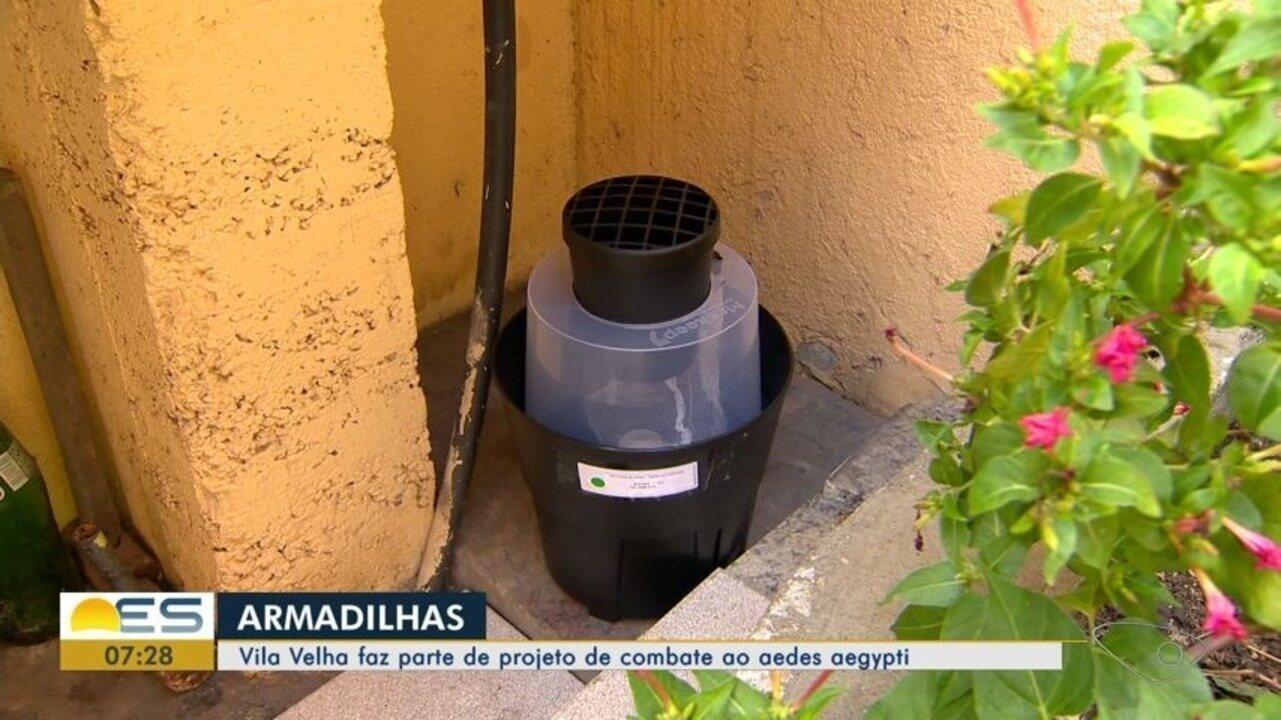 Vila Velha faz parte de projeto de combate ao aedes aegypti com armadilhas