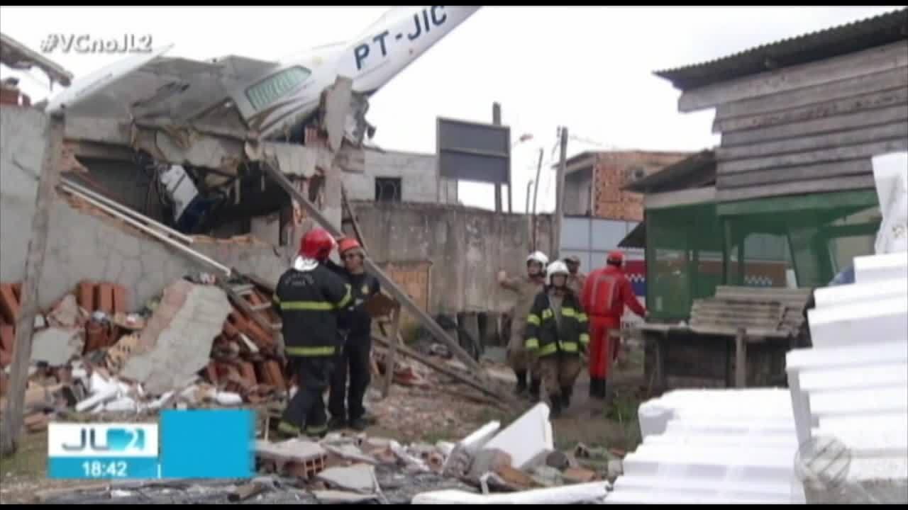 Causas de queda de avião em Belém são investigadas; aeronave estava regular, diz Anac