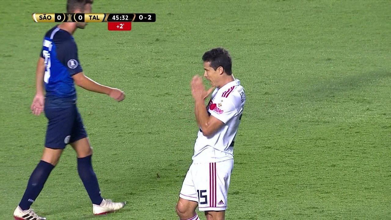Melhores momentos: São Paulo 0 x 0 Talleres pela 2ª fase da Taça Libertadores