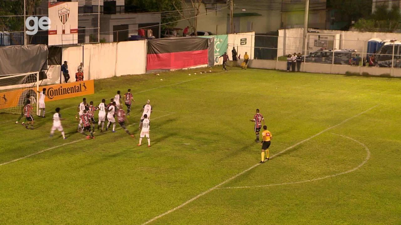 O gol de Serra 1 x 0 Remo, pela Copa do Brasil 2019