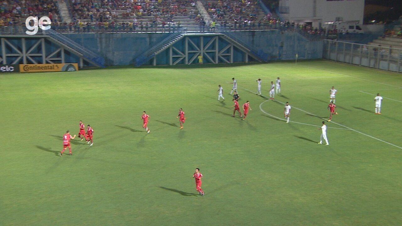 Veja os melhores momentos de Manaus 1 x 1 Vila Nova, pela Copa do Brasil