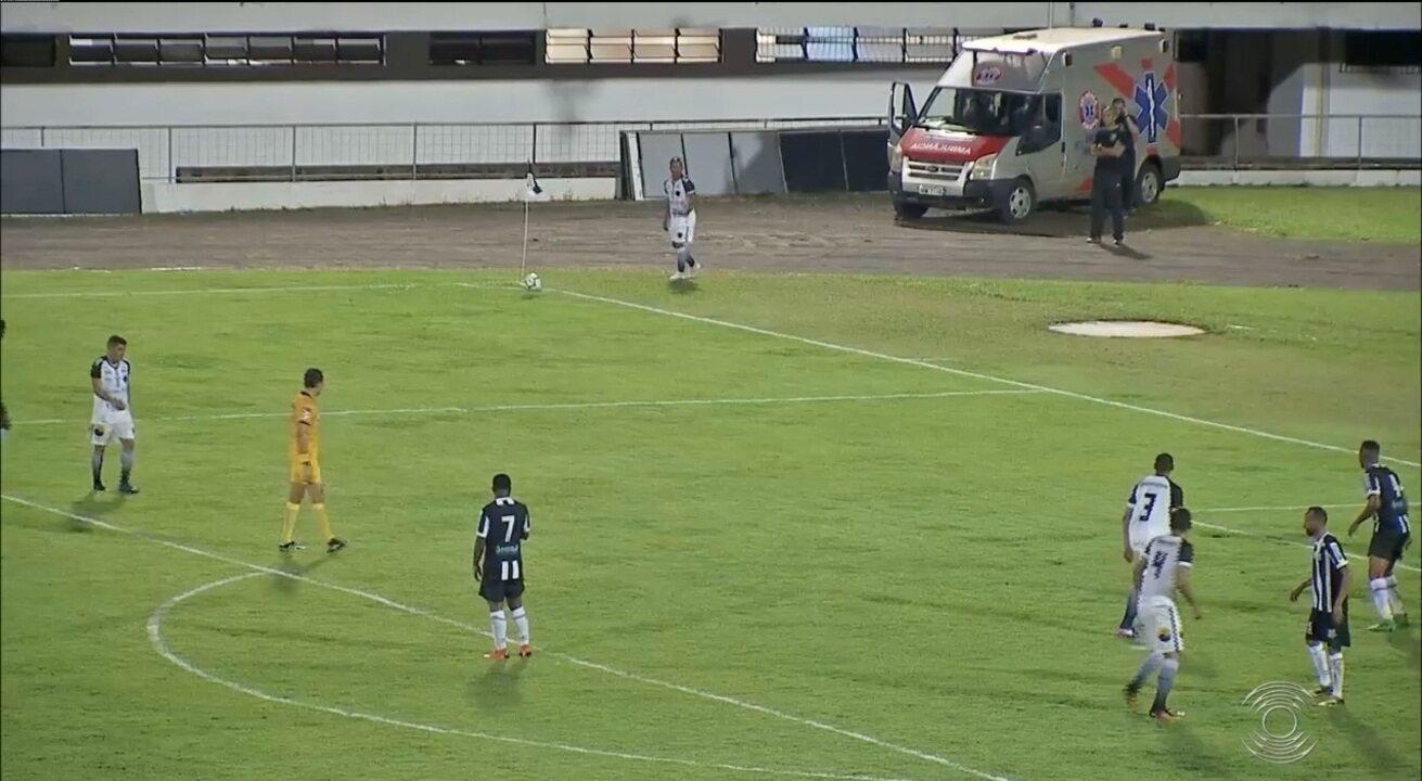 Confira os melhores momentos da goleada do Botafogo-PB sobre o Operário-MS