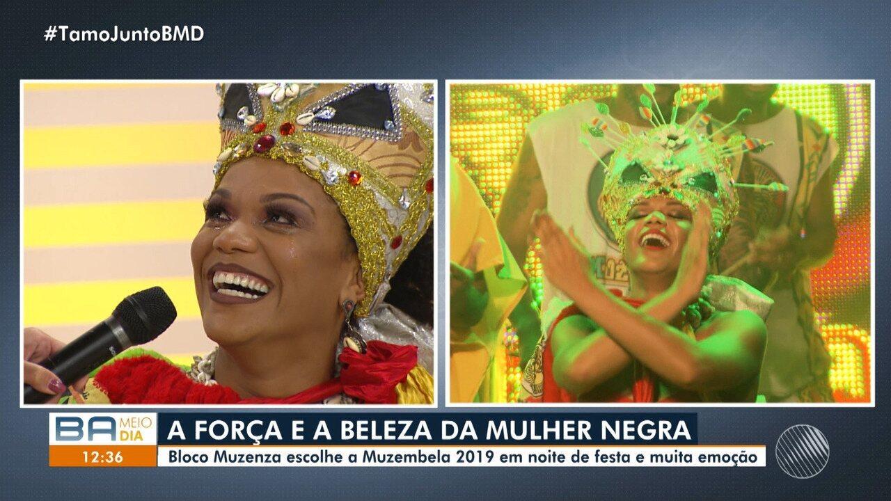 Resultado de imagem para Josy Brasil é escolhida 'Muzembela' 2019; cadeirante vai representar o bloco no carnaval