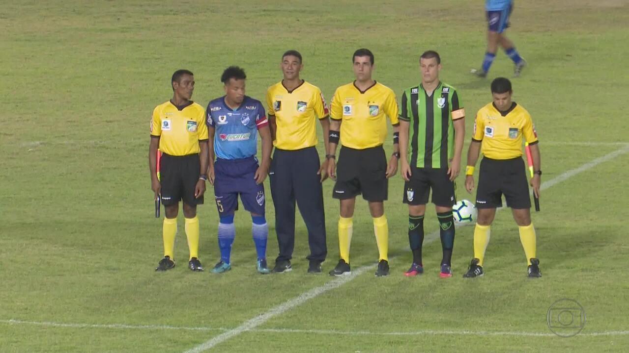 América-MG empata com o São Raimundo, em Roraima, e vai à segunda fase da Copa do Brasil