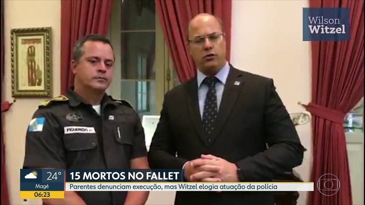 Parentes falam em execução no Fallet; governador elogia policiais