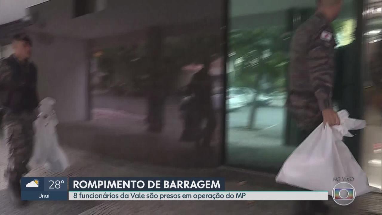 Operação apura responsabilidade criminal em Brumadinho e prende 8 funcionários da Vale