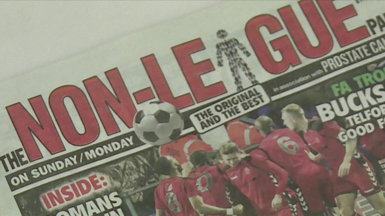 Conheça o jornal inglês que cobre da 5ª à 11ª divisão da Inglaterra e vende 25 mil cópias por edição