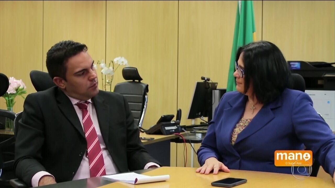 Ministra da Família, Damares Alves, volta a dar declaração polêmica