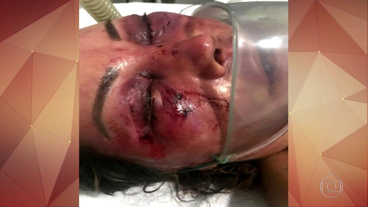 Mulher é espancada por quase 4 horas no Rio e jovem é preso em flagrante