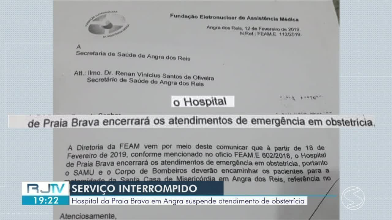 Angra dos Reis: Hospital da Praia Brava suspende atendimento de obstetrícia