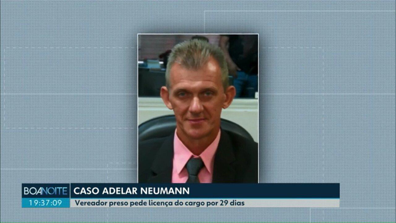 Vereador Adelar Neumann pede licença da Câmara de Marechal Cândido Rondon